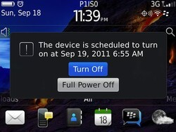 Powering down your BlackBerry - Turn Off vs. Full Power Off