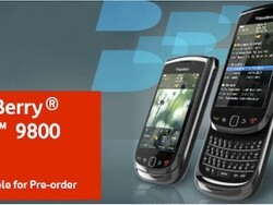 BlackBerry Torch 9800 now available to pre-order in the UK