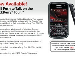 "Verizon Offering Push-to-Talk ""Free for Life"" on the BlackBerry Tour 9630"