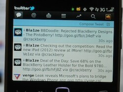 Do you use social apps on your BlackBerry?