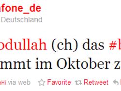 BlackBerry Torch coming to Vodafone Deutschland in October