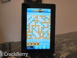 How to play Words With Friends on the BlackBerry PlayBook