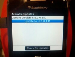 BlackBerry Curve 3G 9330 and Bold 9650 OTA update available from Verizon?