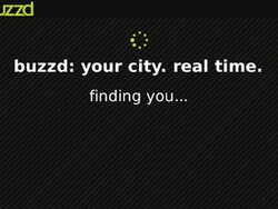 buzzd, a social city guide on your BlackBerry