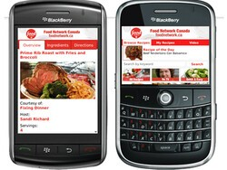 Review: Food Network Canada Mobile App for BlackBerry