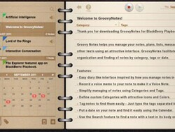 Groovy baby! Groovy Notes manages your notes in style
