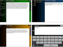 LinkNote organizes notes on the BlackBerry PlayBook