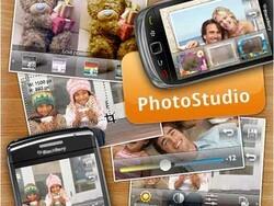 Photo Studio updated to version 0.9.8.17; adds BBM integration