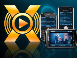 Mobiola xPlayer for BlackBerry updated to version 2.0