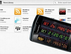 BlackBerry News for the BlackBerry PlayBook updated to 1.0.0.91, returns to the future