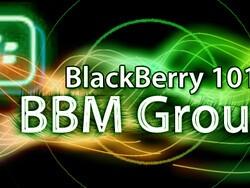 BlackBerry 101 - BlackBerry Messenger Groups