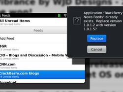 Updated: BlackBerry News Feeds in the Beta Zone