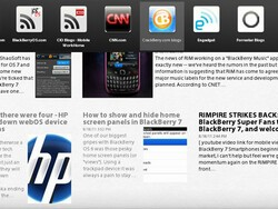 BlackBerry News for the BlackBerry PlayBook updated to version 1.1; brings portrait mode and read articles