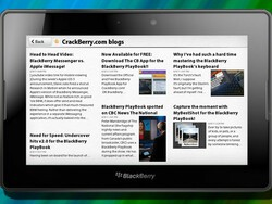 A quick look at BlackBerry News