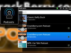 Quick Tip: BlackBerry Podcasts vs. the Data Plan