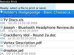 Geek Pro: Print from your BlackBerry over wifi