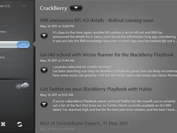 Pipeline: A stylish news reader for the BlackBerry PlayBook