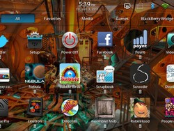 It's Alive!  Breathing icons make shortcuts and favorites easy on the BlackBerry PlayBook