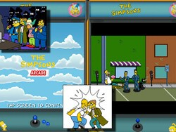 Fun with The Simpsons Arcade for BlackBerry