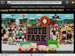 Television, the Internet, and South Park on the BlackBerry PlayBook