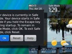 BlackBerry 101: Safe Mode