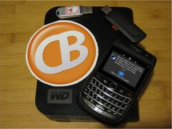 Safely remove the memory card from your BlackBerry