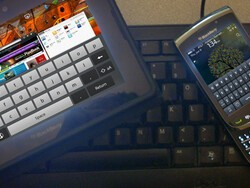 Why I've had such a hard time mastering the BlackBerry PlayBook's keyboard