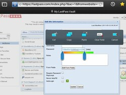 A guide to LastPass on the BlackBerry PlayBook