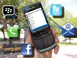 Connect Facebook, Twitter, and BBM to your BlackBerry Contacts