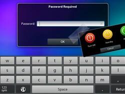 BlackBerry PlayBook feature request: lock screen controls