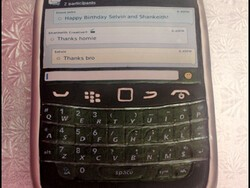 CrackBerry Idol's Shankeith BlackBerry Birthday Cake – It's a Bold 9900!
