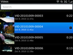 Uploading videos to YouTube from your BlackBerry