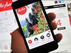 Flying Air Asia? Download the free Air Asia app for BlackBerry 10