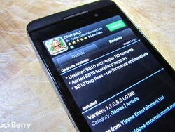 Chimpact for BlackBerry 10 gets updated - brings Scoreloop support and graphics improvements