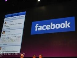 RIM demos official BlackBerry 10 Facebook app