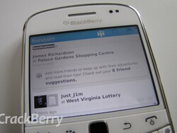 Foursquare updated to version 5.0 for BlackBerry smartphones