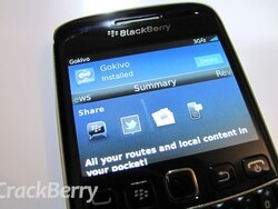 Gokivo - new free voice guided navigation app for BlackBerry smartphones