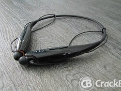 Why not go wire free when listening to music with the LG HBS-700 Bluetooth Stereo Headset