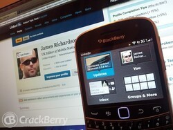 LinkedIn for BlackBerry smartphones updated to version 2.1
