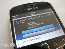 Need the easiest way to save contacts to your BlackBerry address book? Nobex Contacts is the answer