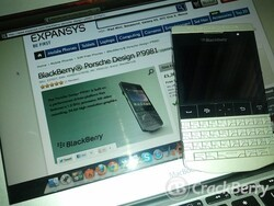 BlackBerry Porsche Design P'9981 in stock at Expansys UK, plus a new official OS for it