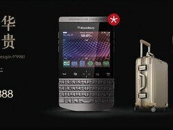 The Porsche Design BlackBerry P'9981 goes on sale in China