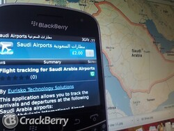 A handy app for frequent flyers in the Middle East - 'Saudi Airports' comes to BlackBerry smartphones