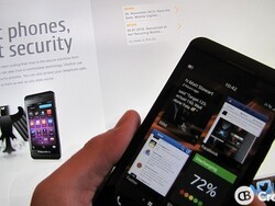The German government adopts the BlackBerry Z10 for its security features