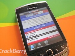 Keep up to date with football scores with the Sky Sports Live Football Score Centre app for BlackBerry smartphones