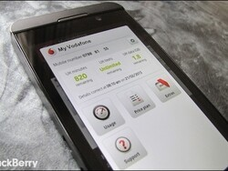 My Vodafone app now available for UK BlackBerry 10 customers