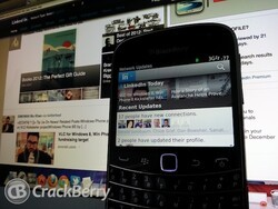 Linkedin for BlackBerry smartphones updated - but we need more from it