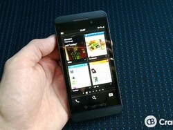 The BlackBerry Z10 goes on sale in Italy and South Africa