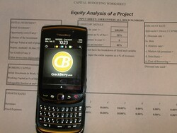 Quintell Dashboards; business analytics on the go from your BlackBerry