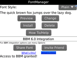 Sprint Promo: FontManager available for free for a limited time